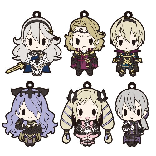 D4 emblem if rubber key holder Collection Vol.2 BOX product 1 = 6 pieces with a total 6 types