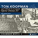 Buxthude : Opera Omnia XV - Musique de chambre 3. Koopman.