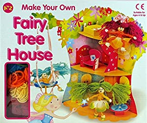 Fairy Tree House Toy Make Your Own Complete Craft Kit