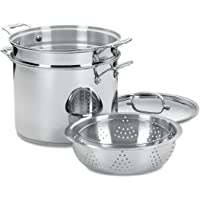 4-Piece Cuisinart Chef's Stainless Pasta/Steamer Set