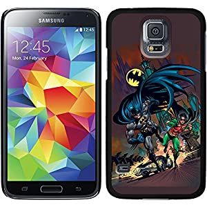 Batman designs on Black Samsung Galaxy S5 Thinshield Case at Gotham City Store