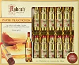 Asbach Uralt Brandy Filled Chocolates in 20 Bottle Window Gift Box - 250g/8.8oz