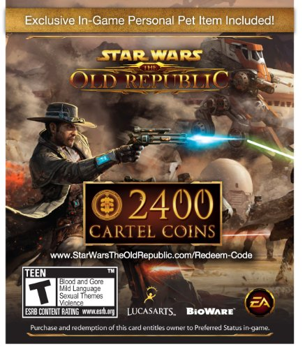 Star Wars The Old Republic: 2400 Cartel Coins