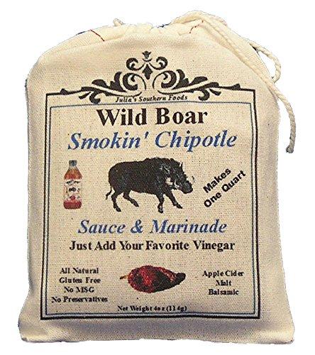 Julia'S Wild Boar Chipotle Sauce And Marinade Mix - Makes 1Qt Sauce Or 4 Marinade Recipes