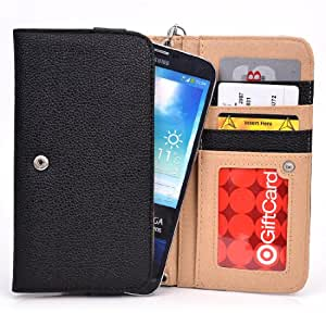 Onyx Womens Smartphone Wallet with Hand Strap for Wickedleak Wammy Note 4, Xolo Q3000 Smartphone Phablet available at Amazon for Rs.4622