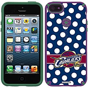 Coveroo CandyShell Cell Phone Case for iPhone 5/5S - Cleveland Cavaliers Polka Dots