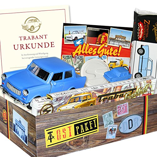 ostpaket trabi set geschenkverpackung mit ostmotiven. Black Bedroom Furniture Sets. Home Design Ideas