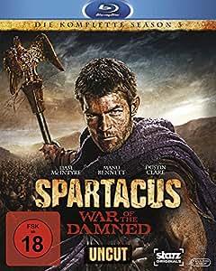 Spartacus: War of the Damned - Die komplette Season 3 - Uncut [Blu-ray]