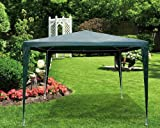 Gazebo 3m PE Green And White Steel Frame