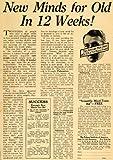 1923 Ad Men Uses 35% of Brain Pelman Mind Training – Original Print Ad Reviews