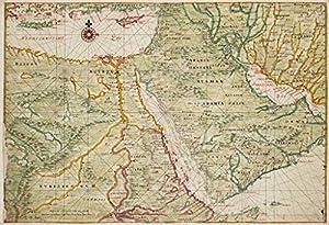 Amazon.com: POSTER A3 Nederland Oude kaart van Egypte (17e