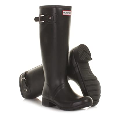 Hunter Original Tour Black Folding Wellies SIZE 3-8