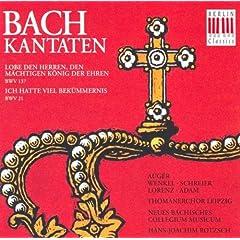 Ich hatte viel Bek�mmernis, BWV 21: No. 1, Sinfonia