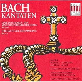 Lobe den Herren, den m�chtigen K�nig der Ehren, BWV 137: No. 5, Lobe den Herren, was in mir ist, lobe den Namen!