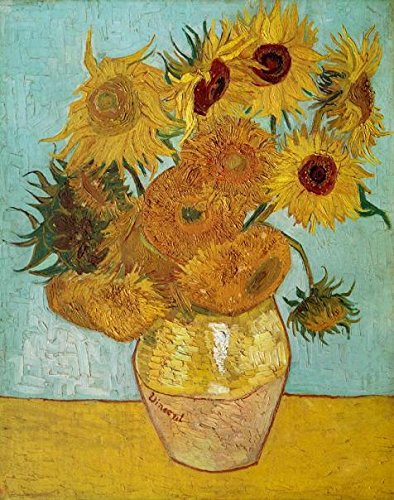 Perfect Effect Canvas ,the Best Price Art Decorative Canvas Prints Of Oil Painting 'Sunflowers By Vincent Van Gogh ,1888', 20x25 Inch / 51x64 Cm Is Best For Wall Art Decoration And Home Decor And Gifts (Tapestry Recipe Binder compare prices)