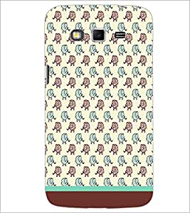 PrintDhaba Elephant pattern D-1608 Back Case Cover for SAMSUNG GALAXY GRAND 2 (Multi-Coloured)