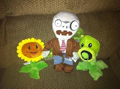 plans vs zombies plushies