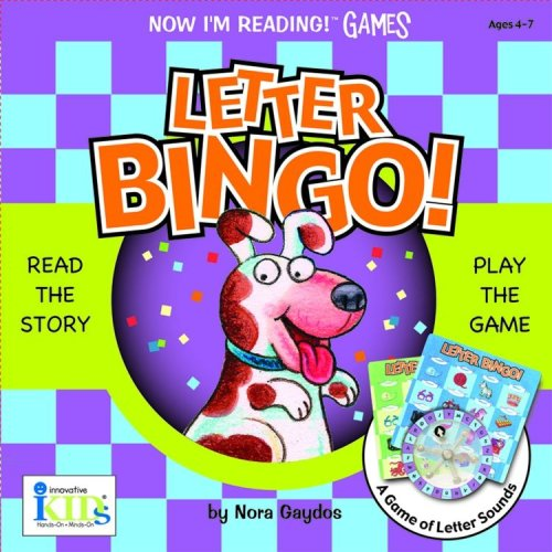 Nir! Games: Letter Bingo! (Now I'm Reading Games)