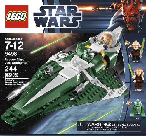 LEGO Star Wars 9498 Saesee Tiin's Jedi Starfighter Amazon.com