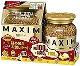 AGF マキシムインスタントコーヒー ペアパック 100g(瓶)+80g(袋)