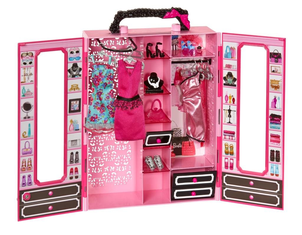 Amazon.com: Barbie Closet and Fashion Set: Toys & Games
