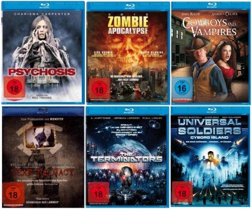 HORROR BLU-RAY COMPULSITION (6 Blu-rays 6 Filme)