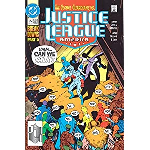Justice League: Breakdowns Book One
