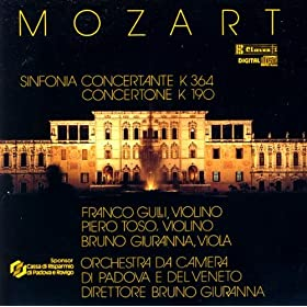 Sinfonia Concertante in E-Flat Major, K. 364: II. Andante