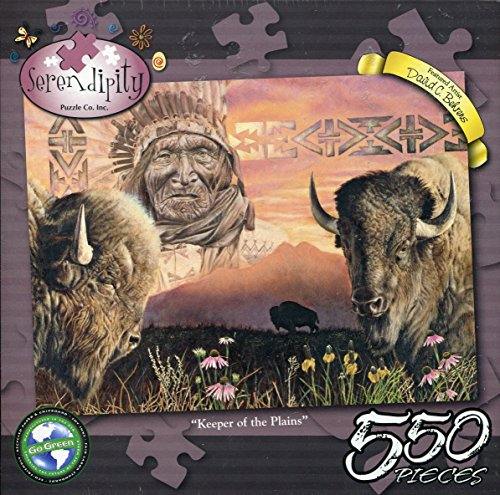 Serendipity Keeper of the Plains by David C. Behrens 550 Piece Jigsaw Puzzle