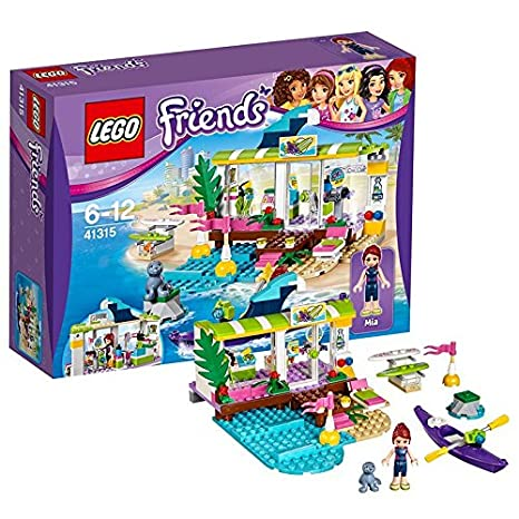 LEGO - 41315 - Friends - Jeu de Construction - Le magasin de plage