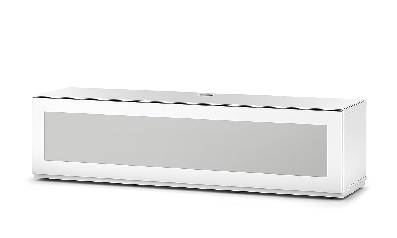 Sonorous STA 160I-WHT-WHT-BS Lowboard für 177,8 cm (70 Zoll) Fernseher weiß