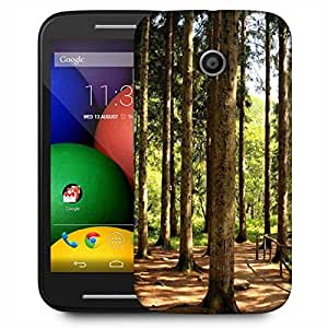 Snoogg Big Trees Designer Protective Phone Back Case Cover For Motorola E2 / MOTO E22