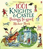 Hazel Maskell 1001 Knights & Castles Things to Spot Sticker Book (1001 Things to Spot sticker books)