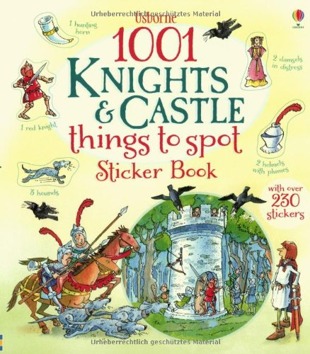 1001 knights & castle things to spot sticker book (1001 Things to Spot Sticker Books)