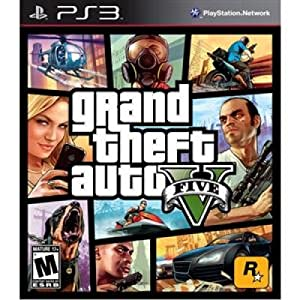 TAKE-TWO 47125 / Grand Theft Auto V Action/Adventure Game - Blu-ray Disc - PlayStation 3