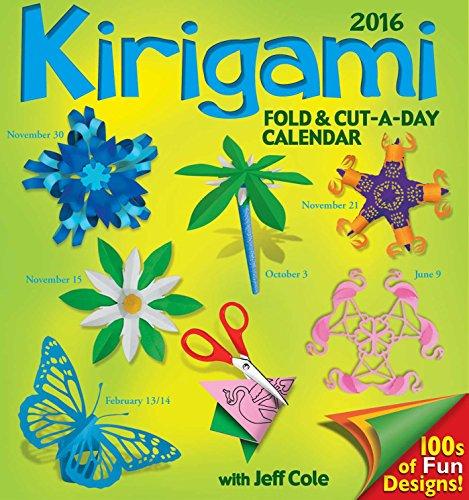 Kirigami Fold Cutaday 2016 Daytoday Cale