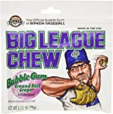 Big League Chew Grape (Pack of 12) - 2.12oz