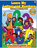 ABC-123 Learn My Letters and Number Giant Super Jumbo Coloring Book (18 x24)