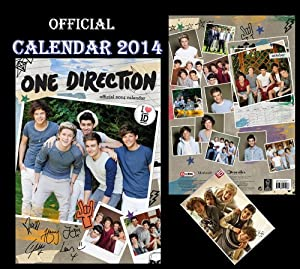 ONE DIRECTION OFFIZIELLER KALENDER 2014 + ONE DIRECTION KÜHLSCHRANKMAGNET