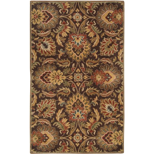 Surya Caesar Cae-1028 Classic Hand Tufted 100% Wool Dark Chocolate 2' X 3' Traditional Accent Rug front-469769