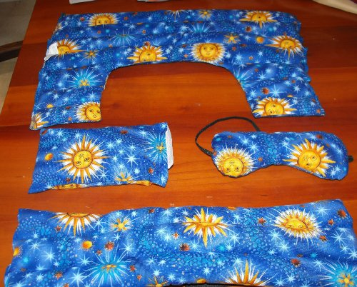 4pc Full Set Herbal Heat Packs Cold Microwave Hot Use