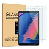 [2-Pack] PULEN for Samsung Galaxy Tab A 8.0 2019 (SM-P200/SM-P205 Model) Screen Protector,HD No Bubble Anti-Fingerprints 9H Hardness Tempered Glass for Galaxy Tab A 8.0 with S Pen Tablet (8.0-Inch)
