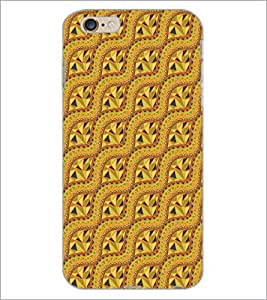 PrintDhaba Wolf D-5136 Back Case Cover for APPLE IPHONE 6S PLUS (Multi-Coloured)