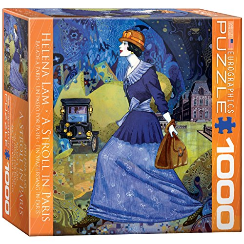 EuroGraphics A Stroll in Paris by Helena Lam Jigsaw Puzzle (Small Box) (1000-Piece)