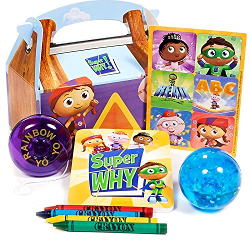 Super Why! Filled Party Favor Box - 1