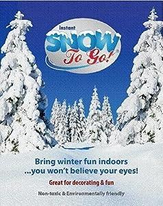 Amazon.com: Instant Snow to Go (Makes 1 Gallon Snow ...