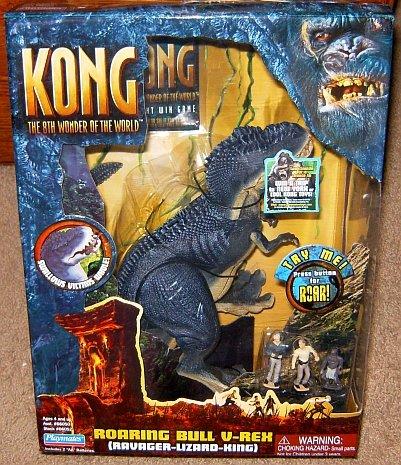 buy cheap kong electronic roaring bull vrex action figure