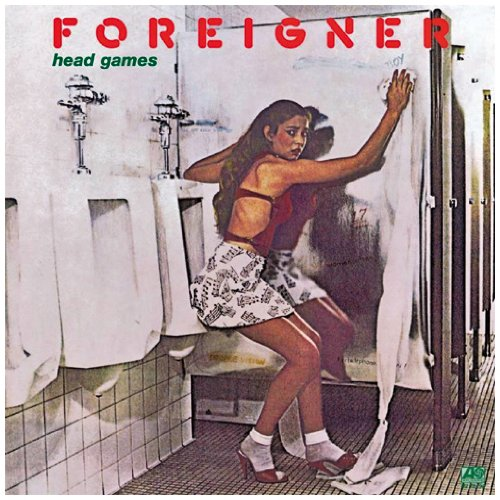 Original album cover of Head Games by Foreigner
