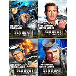 Sea Hunt: The Complete Series Collector's Edition (Seasons 1, 2, 3 & 4) - 20 DVD Set