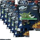 6 Piezas Star Wars Pegar Ems Ventosa Figuras Coleccionables Bolsa Milagrosa Bolsa Fiesta Regalo